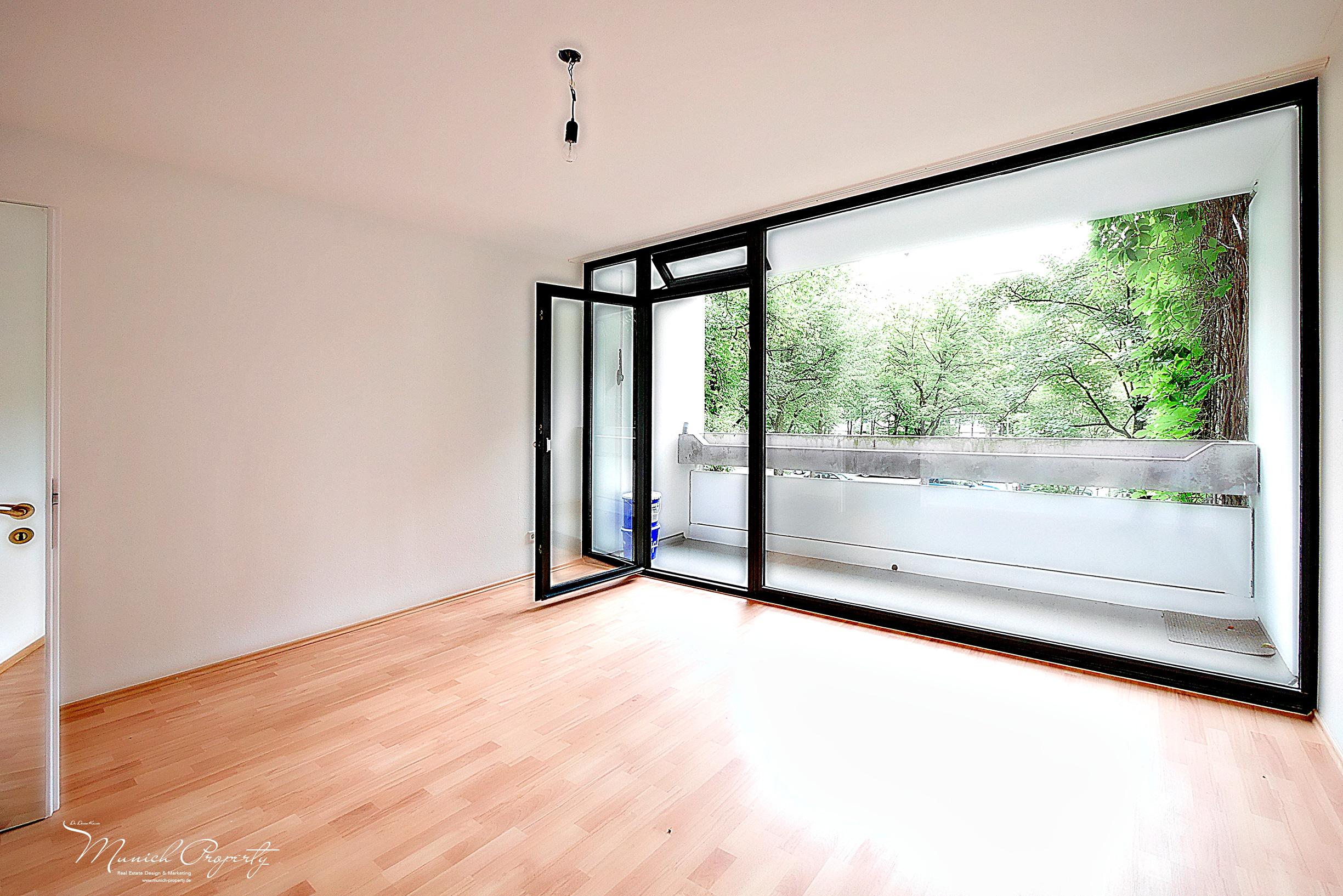 Wohnung München Bogenhausen Fideliopark Knappertsbuschstrasse: Schlafzimmer