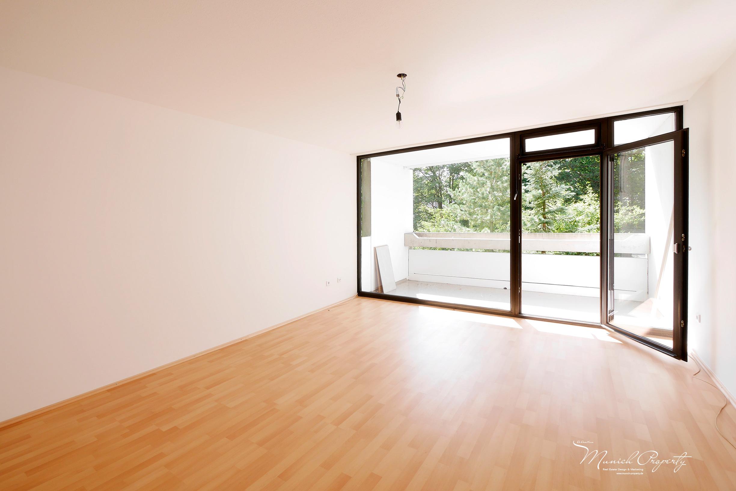 Wohnung München Bogenhausen Fideliopark Knappertsbuschstrasse: Wohnzimmer